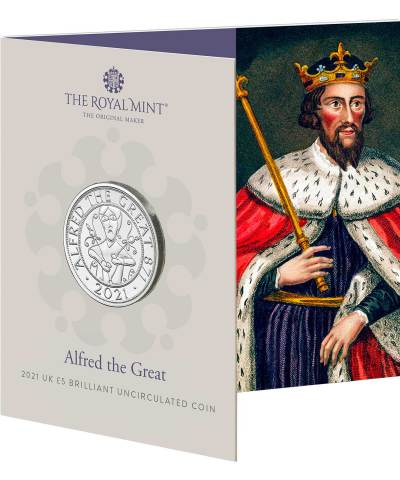 2021 Alfred the Great £5 BU