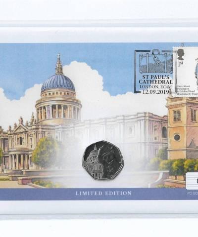 2019 Paddington at St Paul's UK Coin Cover