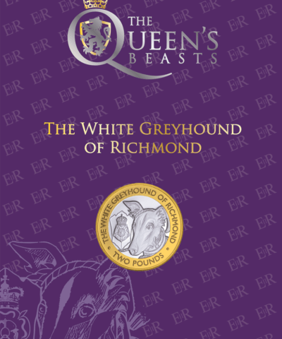 2021 Queen's Beasts – Greyhound of Richmond £2 BU