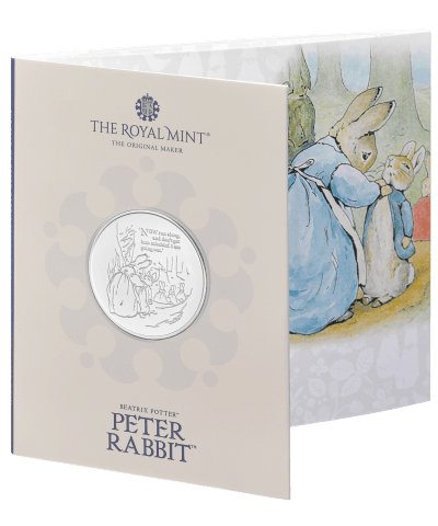 2021 The Tale of Peter Rabbit £5 BU