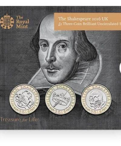 2016 The Shakespeare Set £2 BU