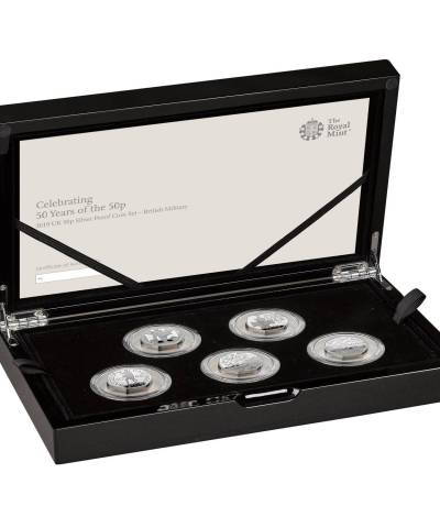 2019 Military 50p Silver Proof Set