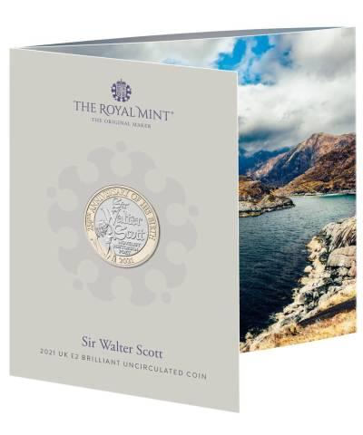 2021 Walter Scott BU £2 RM