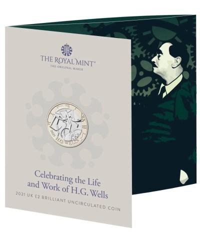 2021 H. G. Wells £2 BU RM