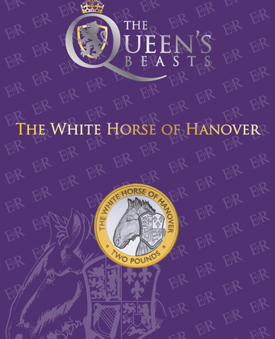 2021 Queen's Beasts – White Horse of Hanover £2 BU