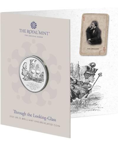 2021 Alice's Adventure – Through the Looking – Glass £5 BU