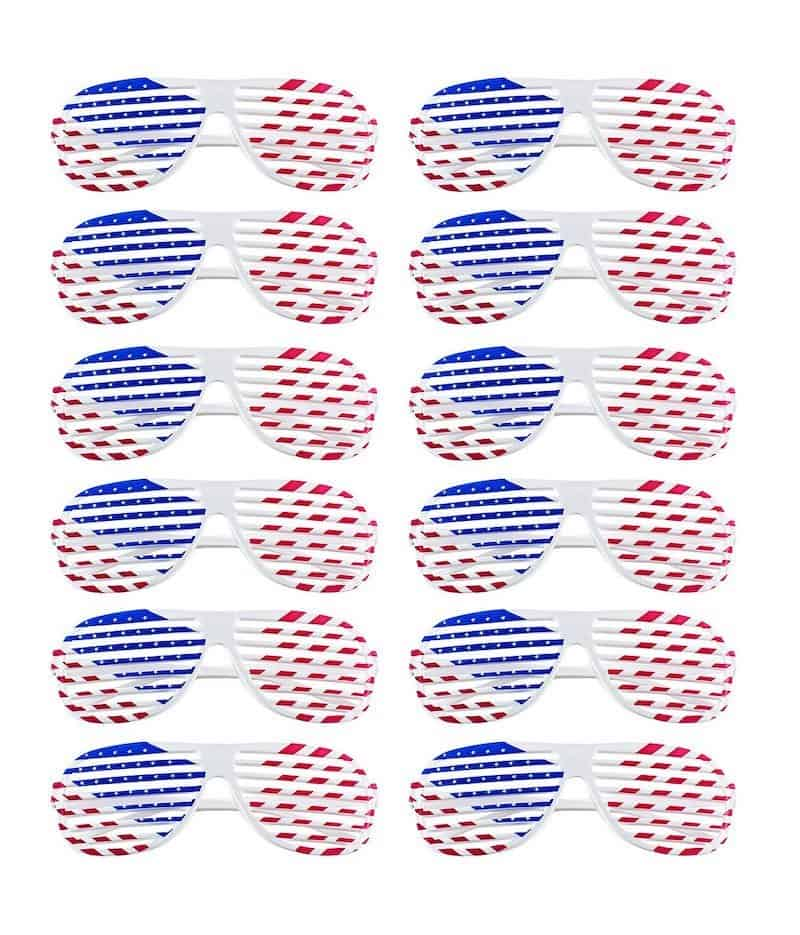 Fourth of July Shutter Shades