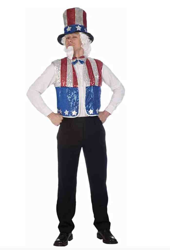 Uncle Sam Fourth of July Costume