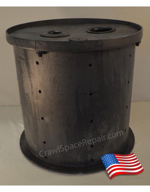 Crawl Space Sump Pump Basin Instadry Water Pumps