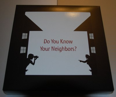 Do You Know Your Neighbors? Box Cover