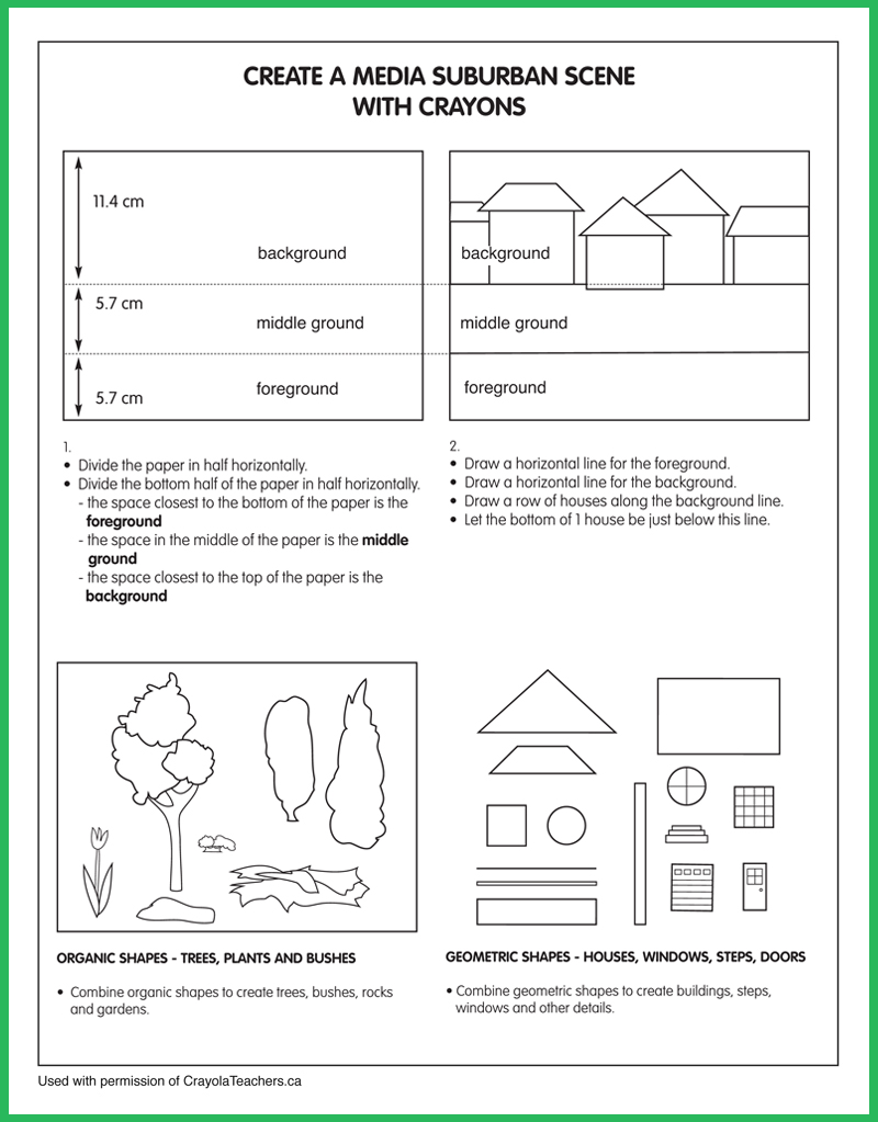 medium resolution of Art Worksheets - Crayola Teachers