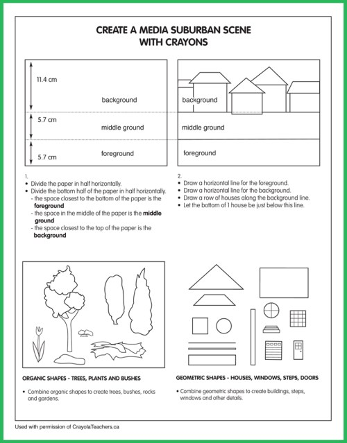 small resolution of Art Worksheets - Crayola Teachers