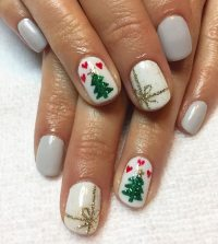 Unique Christmas Nail Art Ideas - Crayon