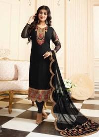 25 Beautiful Black Shalwar Kameez Designs for Girls ...