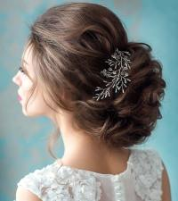 Fabulous Bridal Hairstyle for Short Hair - Crayon