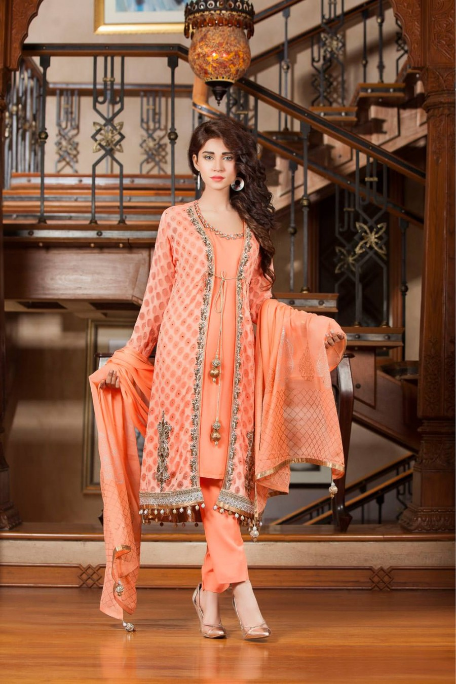 Mehndi Party Dresses 2018 : Latest trends in pakistani party dresses crayon