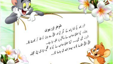 husband and wife jokes in urdu