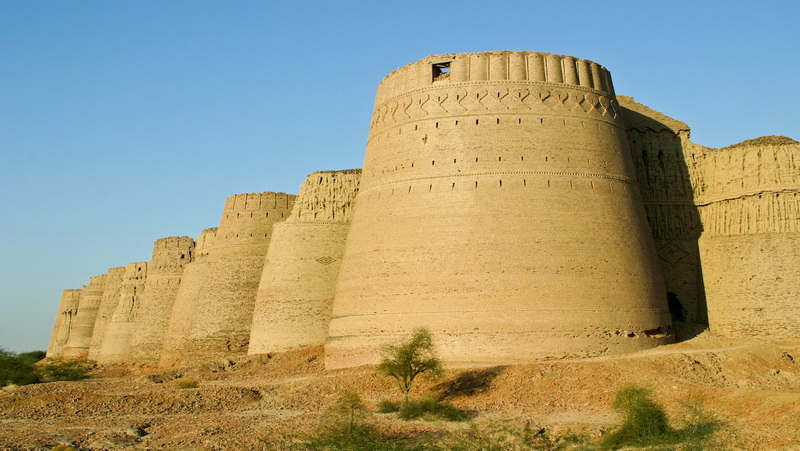 Fort of Azad Khan Kharan Fort  Crayon