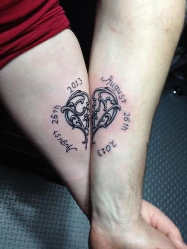 Unique Designs Couple Tattoo Design  Meaningful Couple Tattoos  Meaningful Tattoos  Crayon