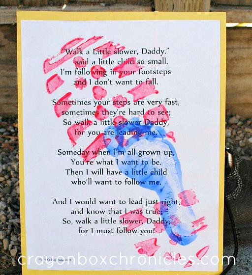 Boot Print Poem Crayon Box Chronicles
