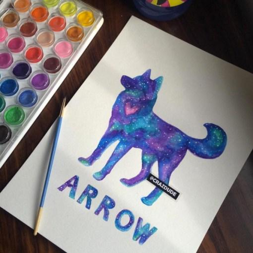 Painting - Pet Portrait Product