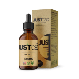A pack of Liquid Honey CBD Tincture from Just CBD