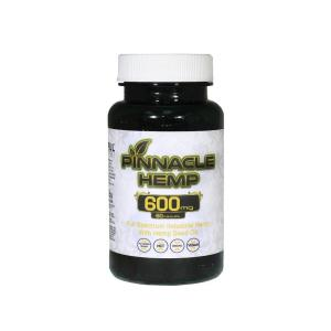 One Container of CBD Capsules from Pinnacle CBD