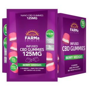 Pack of CBD Gummies from FARMa CBD
