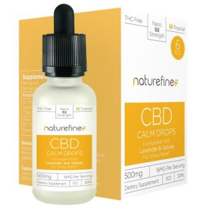 Nature Fine Plus CBD Tincture Drops