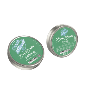 A Container of Relief CBD Body Butter from Craze Naturals by Craze Naturals