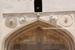 Nearer view of gate bala hissar