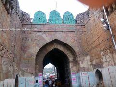 3.Farer view of Main door called Fateh Darwaza, Golconda Fort