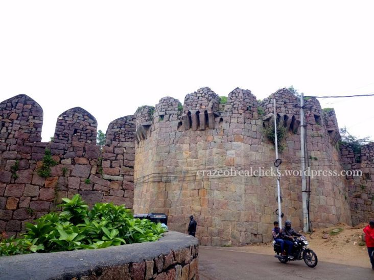 1. Outer-view of Golconda Fort