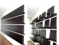 Fold Down Expandable Wall Shelving System -Craziest Gadgets