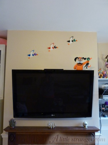 duck hunt wall Duck Hunt Wall and Television Decorations