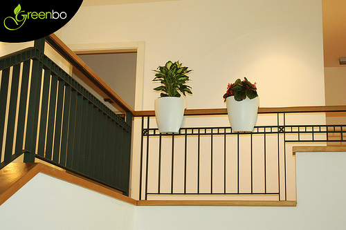 greenbo3 Greenbo Rail Mounted Planters