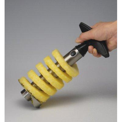 vacu vin pineapple slicer3 Vacu Vin Stainless Steel Pineapple Easy Slicer Quickly Cuts the Fruit