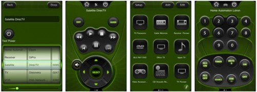 iphone universal remote screens embed 500x180 Turn Your iPhone into a Universal Remote Control with i Got Control
