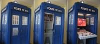 Doctor Who TARDIS Liquor Cabinet -Craziest Gadgets