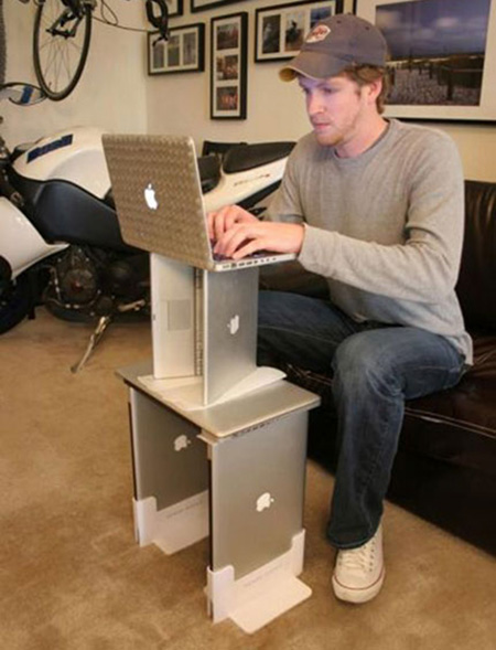 MacBook Computer Desk Craziest Gadgets