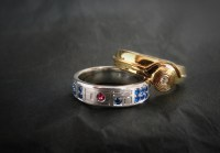 R2-D2 and C-3PO Wedding Rings -Craziest Gadgets