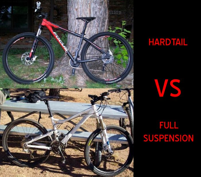 Hardtail vs full suspension