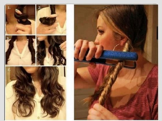 How to Make Your Hair Curly with Braids 1