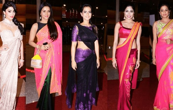 How to Wear Saree in Different Style 4