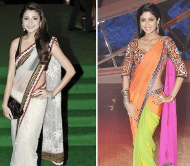 How to Wear Saree in Different Style 5