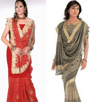 How to Wear Saree in Different Style 7
