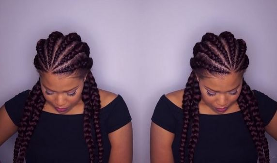 Big Cornrows Hairstyles