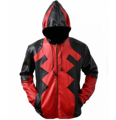 Deadpool Leather Jacket Design Ideas