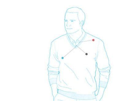 How to Wear a Sweater Over a Collared Shirt
