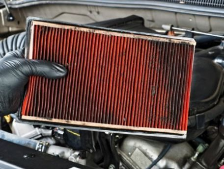 Maintenance of car filters